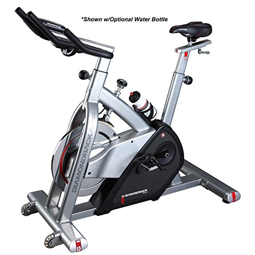 Diamondback Fitness 510Ic Adjustable Indoor Cycle with Electronic Display and Quiet Magnetic Flywheel