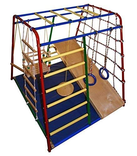 Funny Baby Maxi - Kid's Indoor Playground Climber Set with Accessories