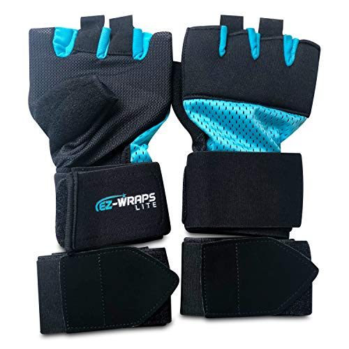 Women's EZ-WRAP LITE 2.0 Premium Fast Inner Boxing Hand Wraps for Ultimate Support, Protection and Speed For Martial Arts,Kickboxing,Cross training and Boxing Workouts. Fits any boxing glove. (Small)