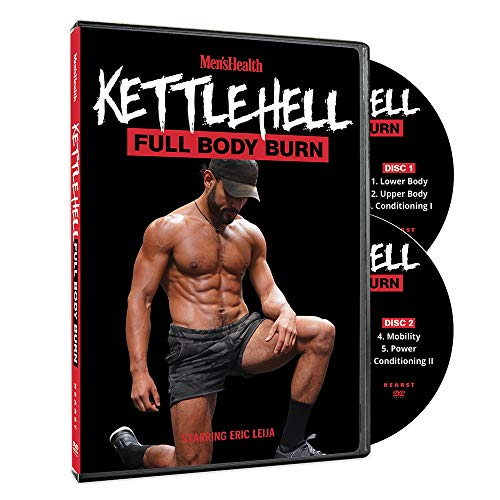 Men's Health Kettlehell: Kettlebell Workouts Starring Eric Leija (2 DVDs)