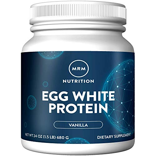 MRM Natural Egg White Protein Powder - Rich Vanilla - 24oz