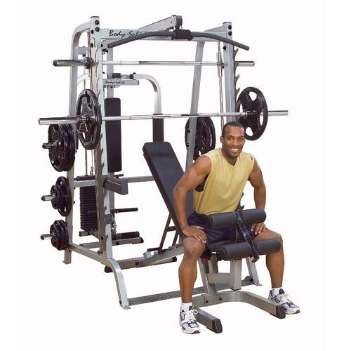 IRON COMPANY Body Solid Series 7 Smith Machine Package
