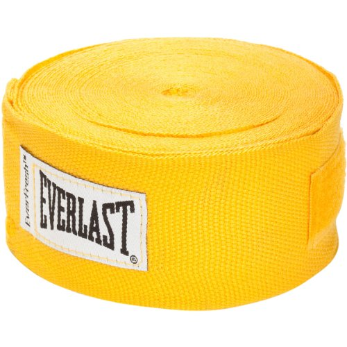 Everlast Pro Handwraps (Yellow, 180-Inch)