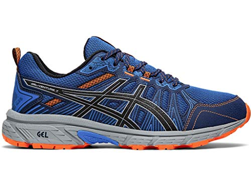 ASICS Men's Gel-Venture 7 Running Shoes, 10.5M, Electric Blue/Sheet Rock