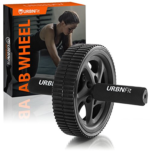 URBNFit Deluxe - Abdominal Exercise Toning Wheel - Get 6 Pack Abs