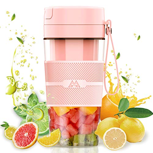 Miceshu Food Processor Blender, Portable Blender for Shakes and Smoothies, Mini Mixer, Smoothies Maker Fruit Blender , 10oz/300ml Cup for Gym, Office, Sports, Travel, Outdoor BPA Free