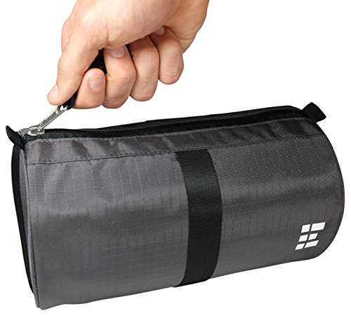 Toiletry Bag Hanging Dopp Organizer Shaving Bag Water Resistant Rip-Stop Nylon Compact Perfect for Travel Accessories