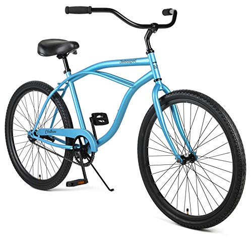 Retrospec Chatham Men's Beach Cruiser, Matte Pacific Blue, 26'/1-speed