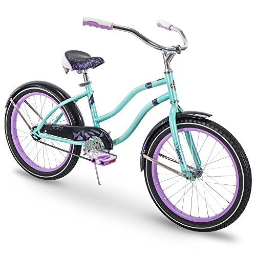 Huffy Bicycle Company Huffy Kids Cruiser Bike for Girls, Fairmont 20 inch, Teal - 73558