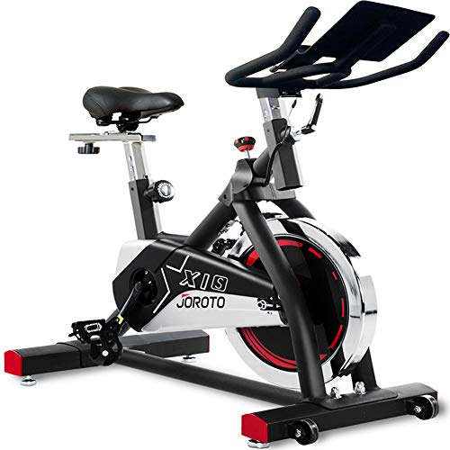 JOROTO Indoor Cycling Bike Stationary - Professional Exercise Bike for Home Cardio Gym Workout