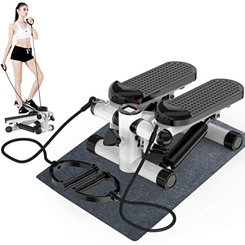 HATHOR-23 Lateral Twist Step Machines for Home, Small and Compact Stair Stepper Low Impact Gym Machine Swing Stepper, Suitable for Thigh Exerciser Vertical Climber Beginners