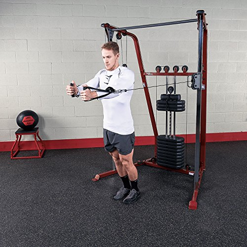 Body-Solid Best Fitness BFFT10R Functional Trainer and Cable Machine with 190 Lb. Weight Stack