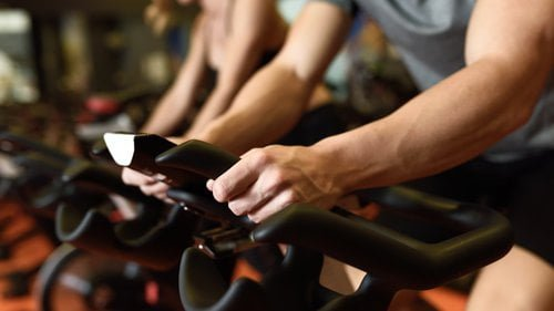 Spin Bike Increased Cardiovascular System
