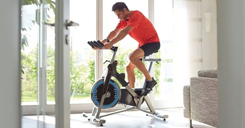 Spin Bike Reduce Stress