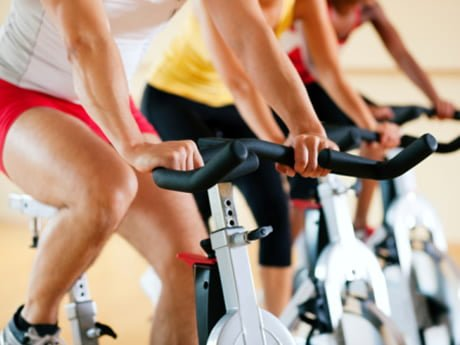 Spin Bike Reduced Risk of Injury