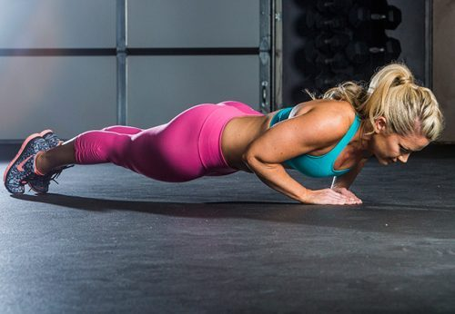 Triangle Pushups