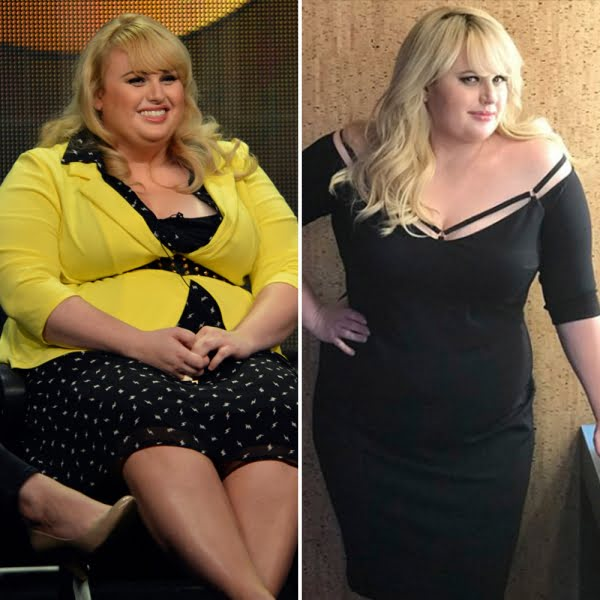 Rebel Wilson Weight Loss Pictures
