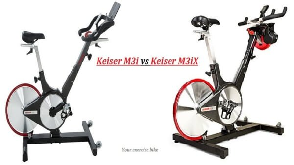 Keiser M3i, M3iX, M3 Spin Bike Reviews 2019