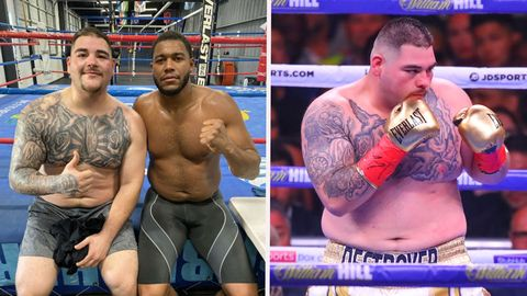 Andy Ruiz Weight Loss 2020